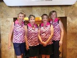 Flight Two: Liz Keeler, Genneth Hunter, Lesley Lowery, Sandra Oberg