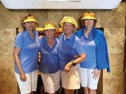 Flight Four: Maria Murray, Elizabeth Nelson, Rhonda Hrdlicka, Diana Wolf