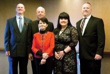 The Glynn family on their Alaskan cruise