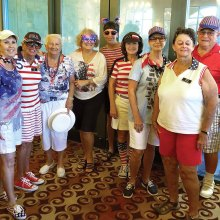 Putters Club celebrates Fourth of July in style