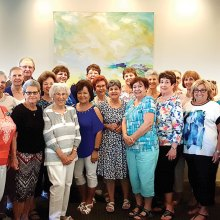 PebbleCreek Singles gathered for lunch at the Arizona Culinary Institute.