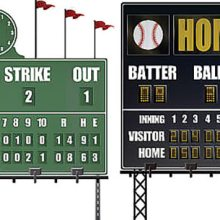 Baseball Scoreboards