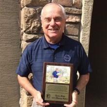 Lyman Gallup, 2018 AGA Honorary Captain