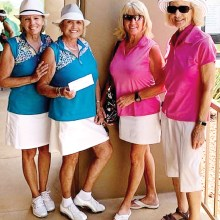 LASSI winners (left to right): Kathi Curtis, Donna Havener, Tess Braden, Carol Taylor; Not pictured: Nancy Hernandez and Meg Quarrie (WWGA).