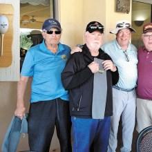 PCM9GA 1st Place winning team at Coyote Lakes: Bruce Hulbert, Bill Gray, Alan Hatfield, and Bill Lansing