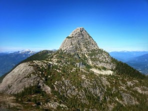 Mt. Habrich from the summit point of the race.