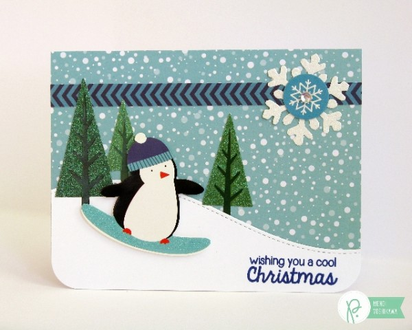 Winter Cards With Mendi Pebbles Inc
