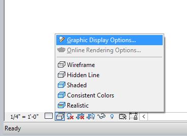Graphic Display Options