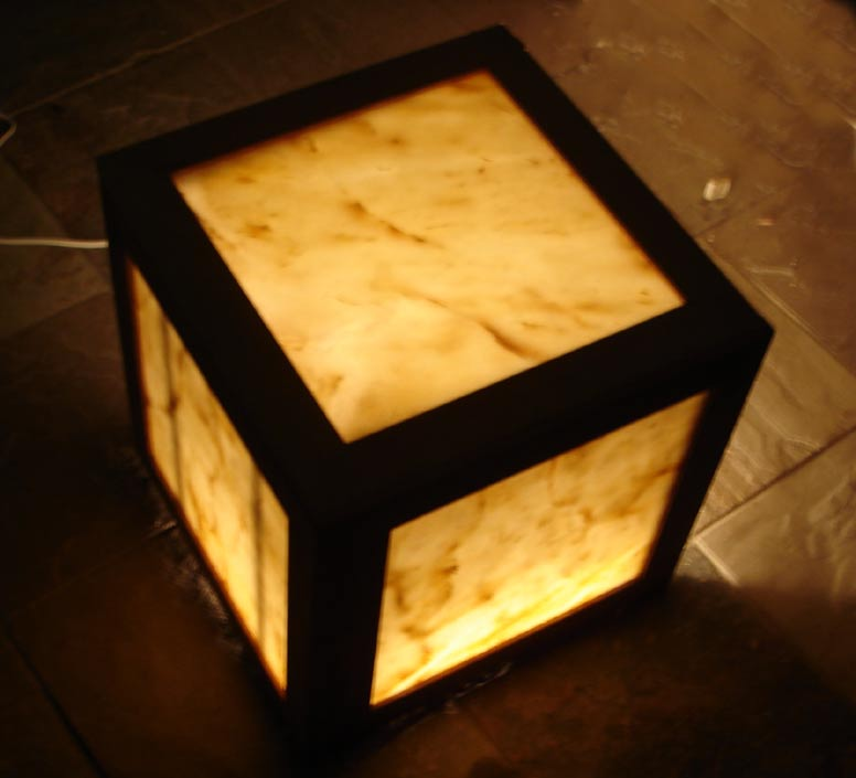 Illuminated Stone Tables