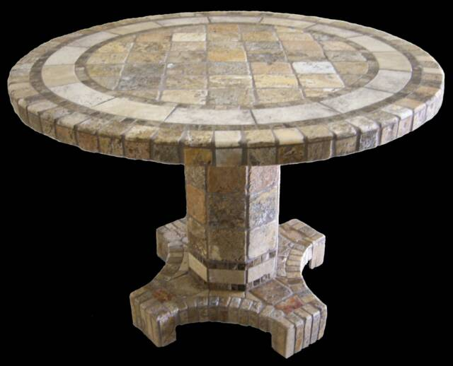 Agea Natural Stone Table Bases
