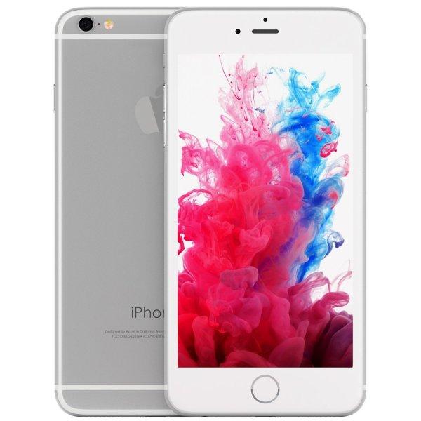Apple iPhone 6, Fully Unlocked, 16GB - Silver (Refurbished)