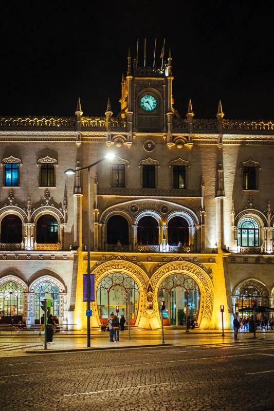 Eingang Lissabon Bahnhof