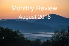 Monthly Review August 2016 Montenegro sunset