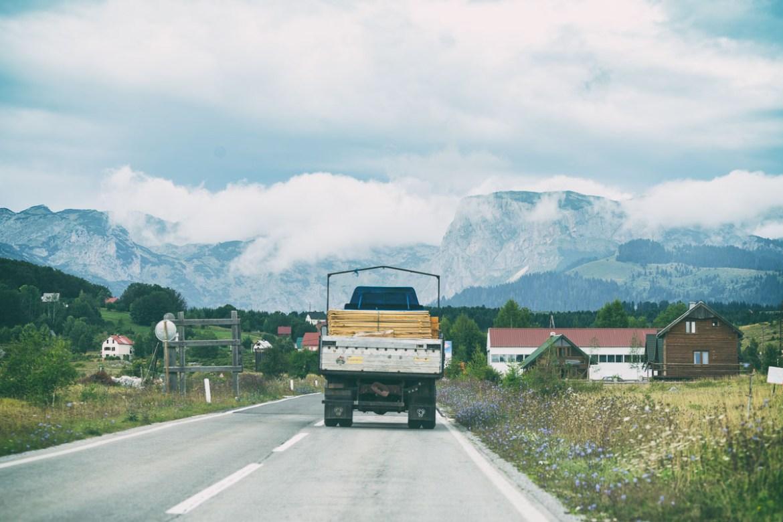 Weg nach Žabljak