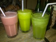 our wonderful drinks