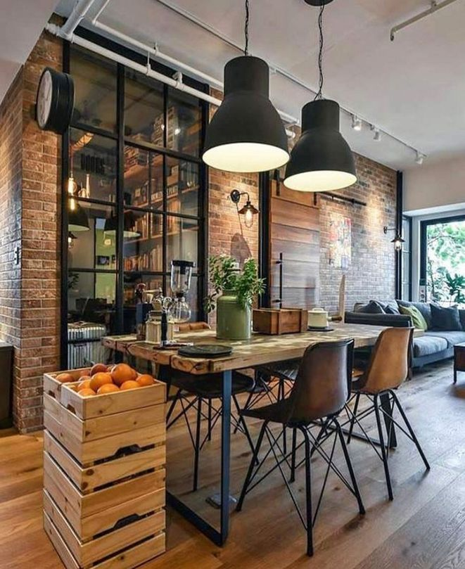 19+ The 30 Second Trick For Rustic Industrial Decor 49