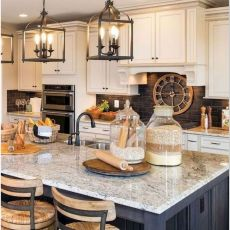 MODERN FARMHOUSE KITCHENS OUR FAMILY 'S FUTURE HILL COUNTRY HOME INSPIRATION