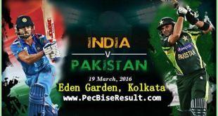 Live Streaming Ind Vs Pak Match 19/03/2016
