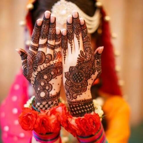 Indian Bridal Hand Henna Design 2017