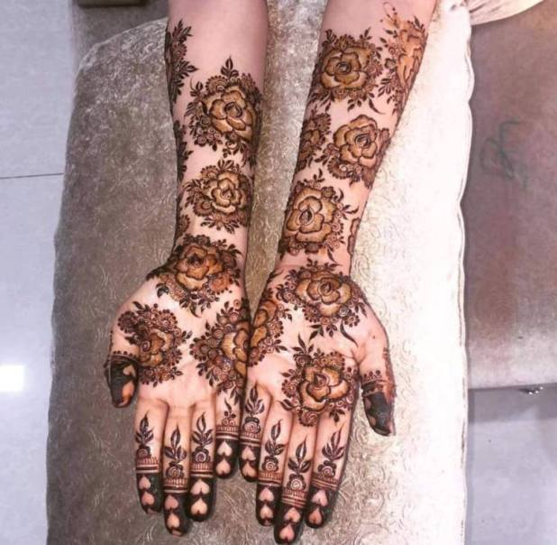 Casual Hand Henna Design 2017