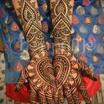 Dil Mehndi Styles 2017