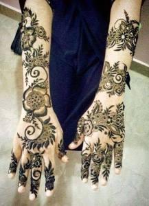 Pakistan Hand Henna Designs 2017