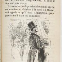La visite au musée : le provincial au Louvre en 1841
