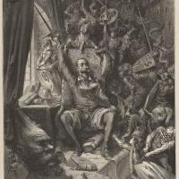 Une matrice inachevée de Gustave Doré