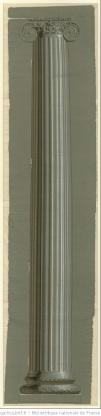 Manufacture Crombe, colonne, 1801