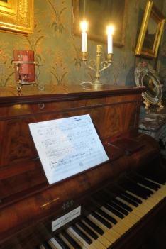 Piano dans le salon de George Sand