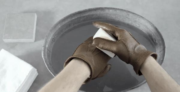 cura della pelle di pecari