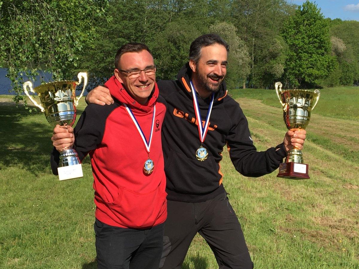 2 pêcheurs du PFC sur le podium du championnat de France 3ieme division feeder