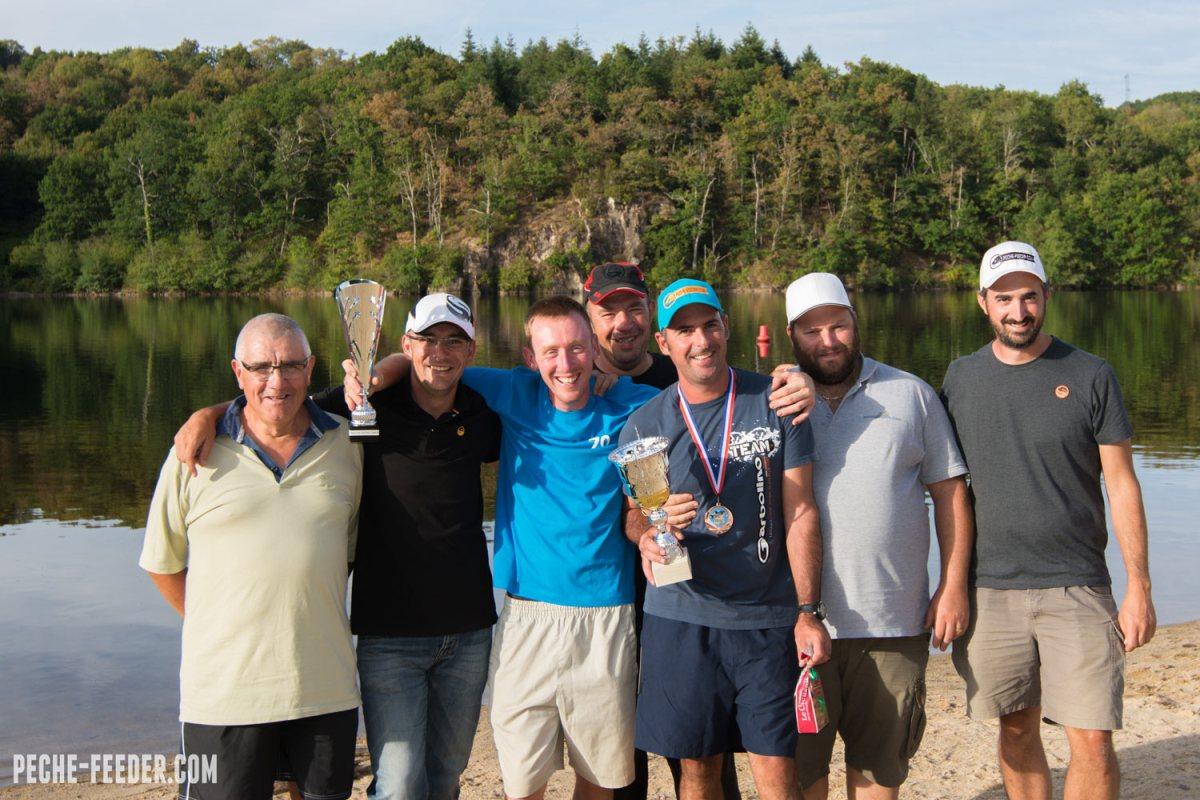 Championnat de France Feeder : un podium et 3 maintiens pour les pêcheurs du PFC