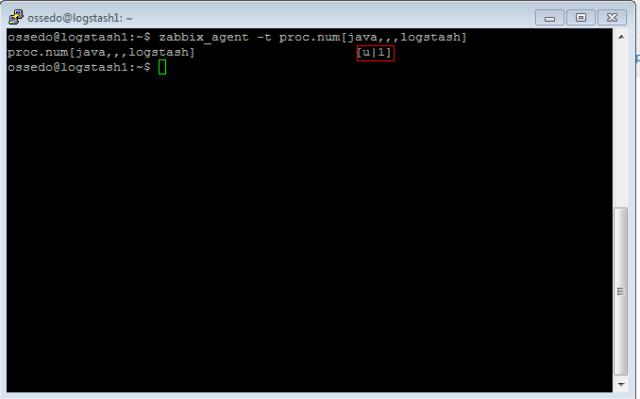 Zabbix-проверка правильности ключа