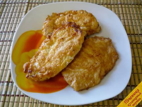Отбивная из куриного филе (пошаговый рецепт с фото ...