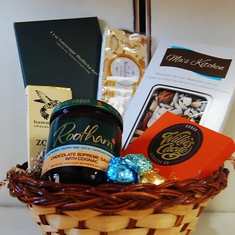 Almonte chocolate gift basket