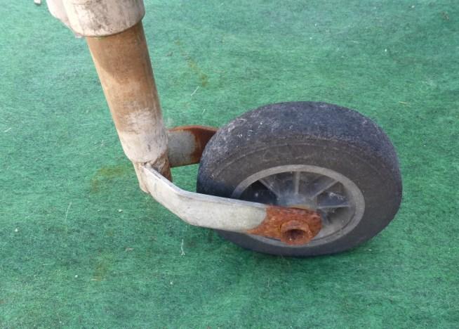 problème ensablage roue jockey