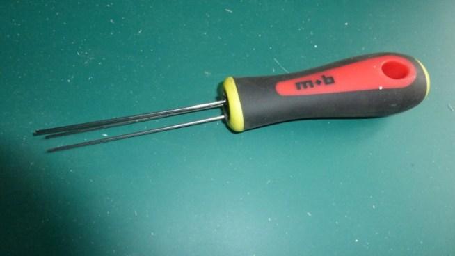 outil pour ligaturer appats fragiles