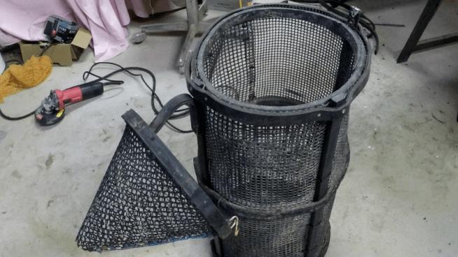 fabriquer un casier a crevette