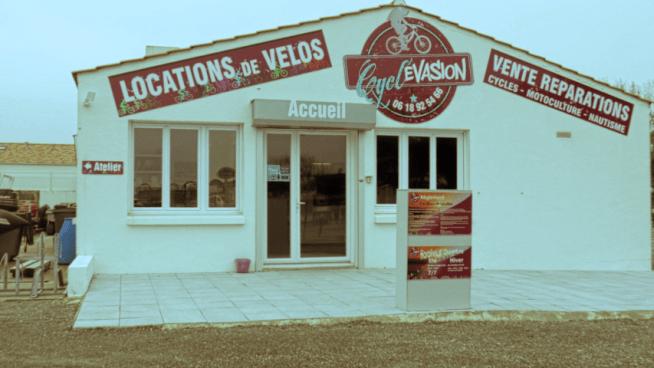 cycl'evasion : Saint Hilaire de Riez nautisme motoculture location vélos