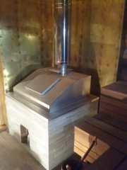 Банная печь 16 по черному