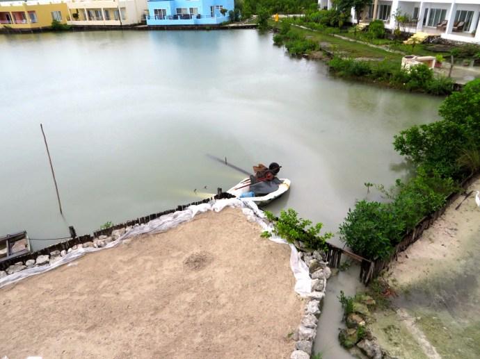 Leaking boats