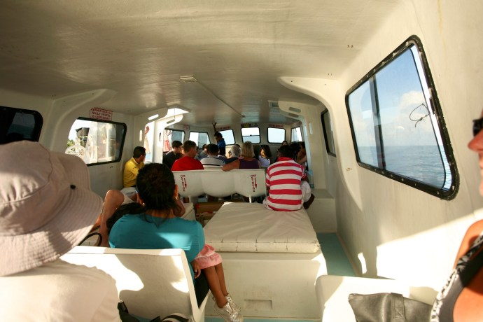 Day trip to Caye Caulker. Water taxi home.