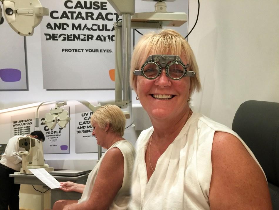 New Glasses for Karen