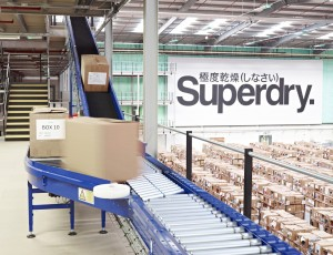 LB Foster designed and manufactured the interfloor belt conveyors at Clipper's Burton DC