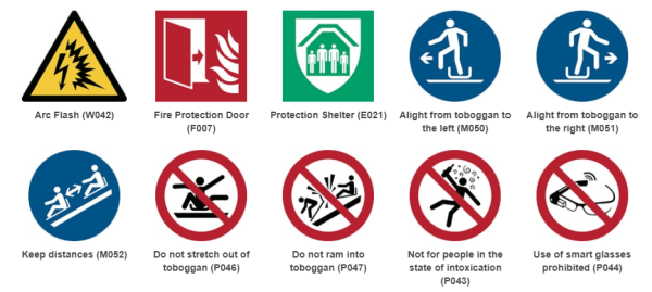 Are Your Safety Signs Iso 7010 Compliant Pecm