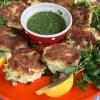 fish cakes watercress salad