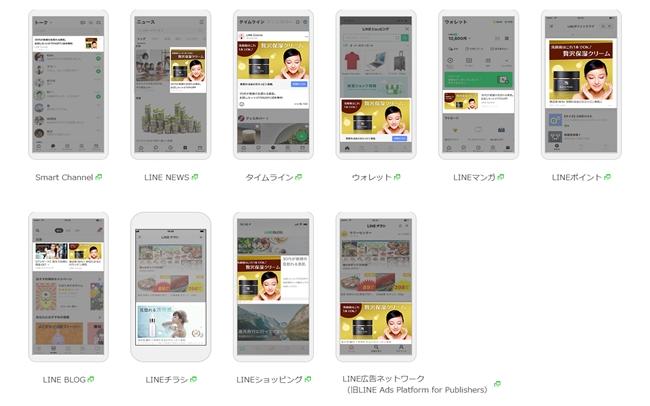LINE広告11種類