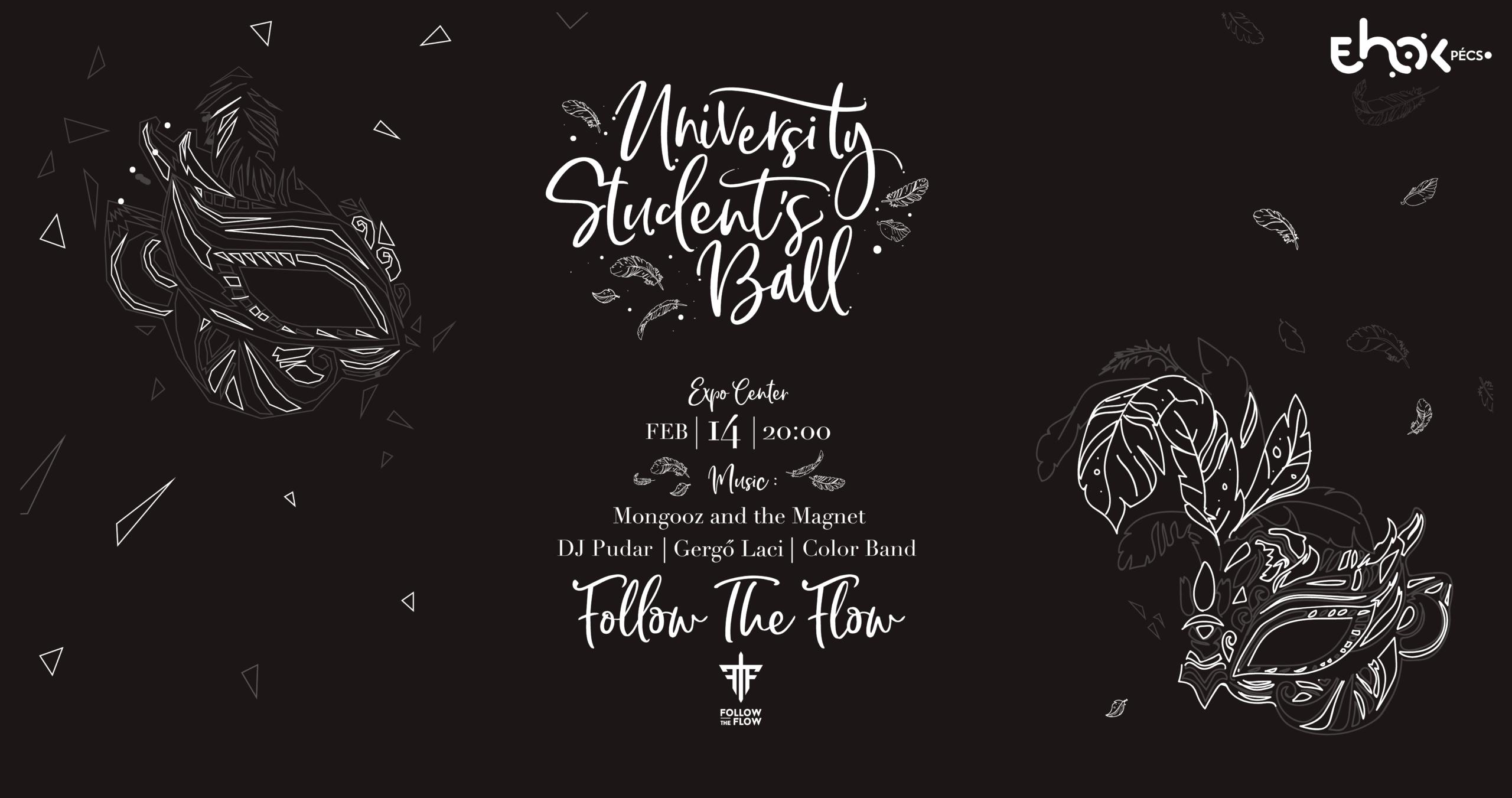 PTE University Student's Ball 2020 ✘ Follow The Flow 02.14.