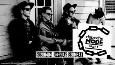 depecheMODE night // 0404 2020 sörházSZOMBAT